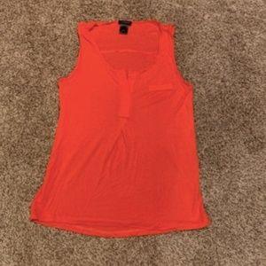Ann Taylor orange tank top